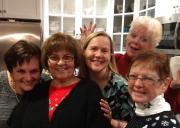 Denise, Betty, Jill, Kathy, Nancy